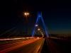 Pylon bei Nacht
