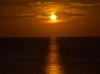 Mondaufgang über dem Mittelmeer