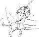 Hund - gezeichnet von Shirin